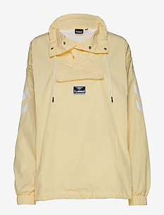 hmlCALISTA HALF ZIP JACKET - DOUBLE CREAM