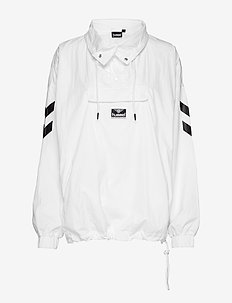 hmlCALISTA HALF ZIP JACKET - WHITE