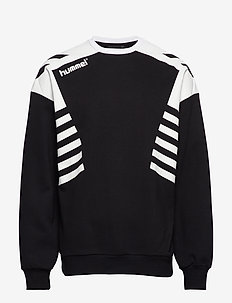 hmlCARL-OTTO SWEATSHIRT - sweatshirts - black