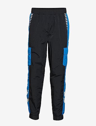 hmlCARL PANTS - pantalons - black