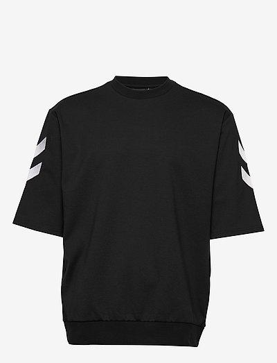 hmlCLAES T-SHIRT SS - t-shirts - black