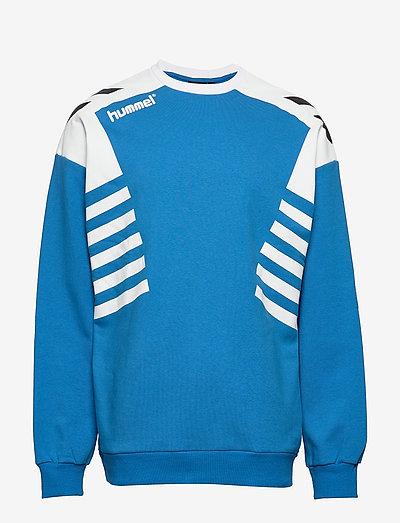 hmlCARL-OTTO SWEATSHIRT - sweats - french blue