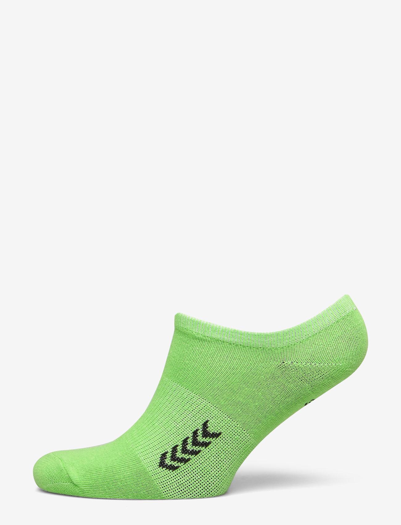 Hummel - ANKLE SOCK SMU - korte strømper - green gecko/black - 0