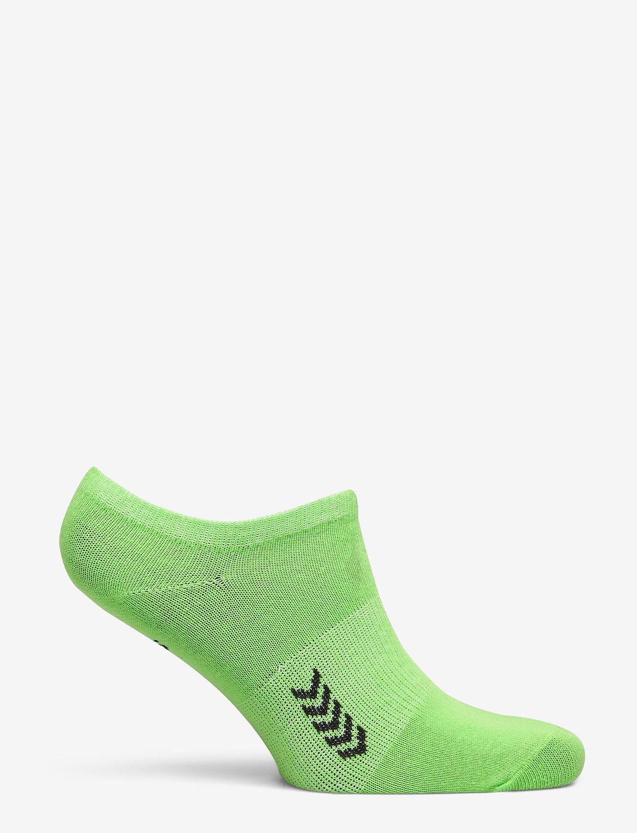 Hummel - ANKLE SOCK SMU - korte strømper - green gecko/black - 1