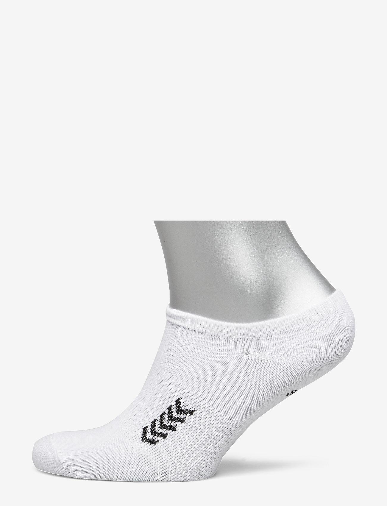 Hummel - ANKLE SOCK SMU - korte strømper - white/black - 0