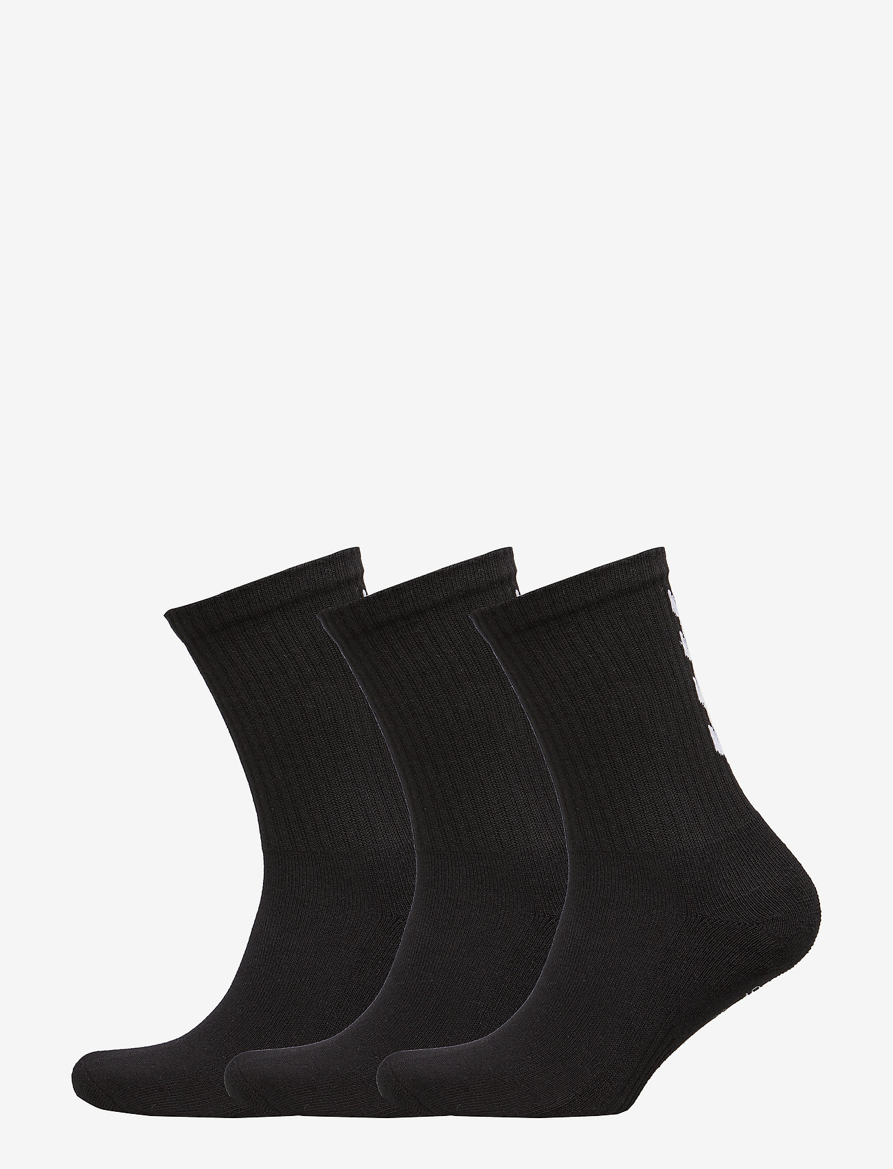 Hummel - FUNDAMENTAL 3-PACK SOCK - regular socks - black - 0