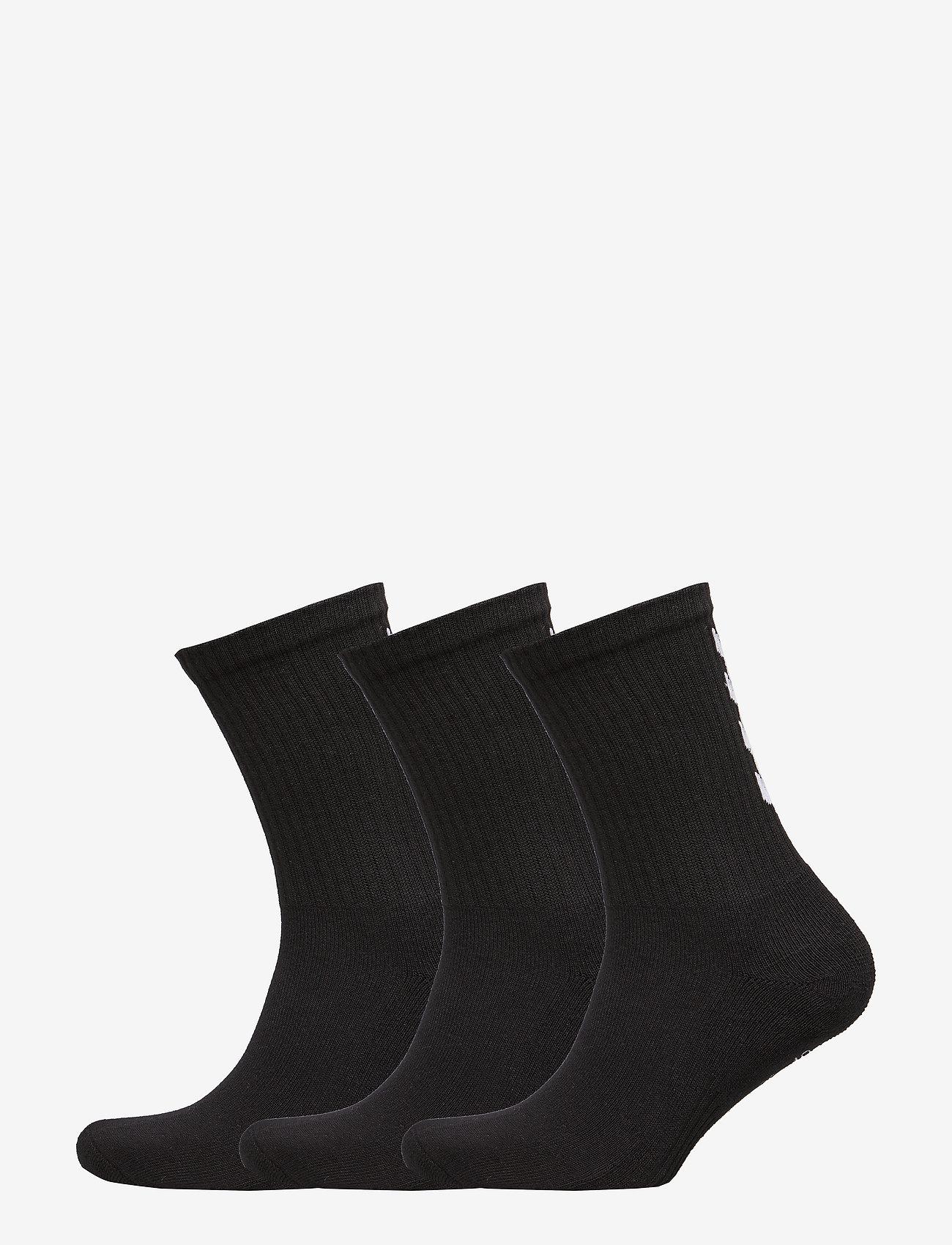 Hummel - FUNDAMENTAL 3-PACK SOCK - sokker - black - 0