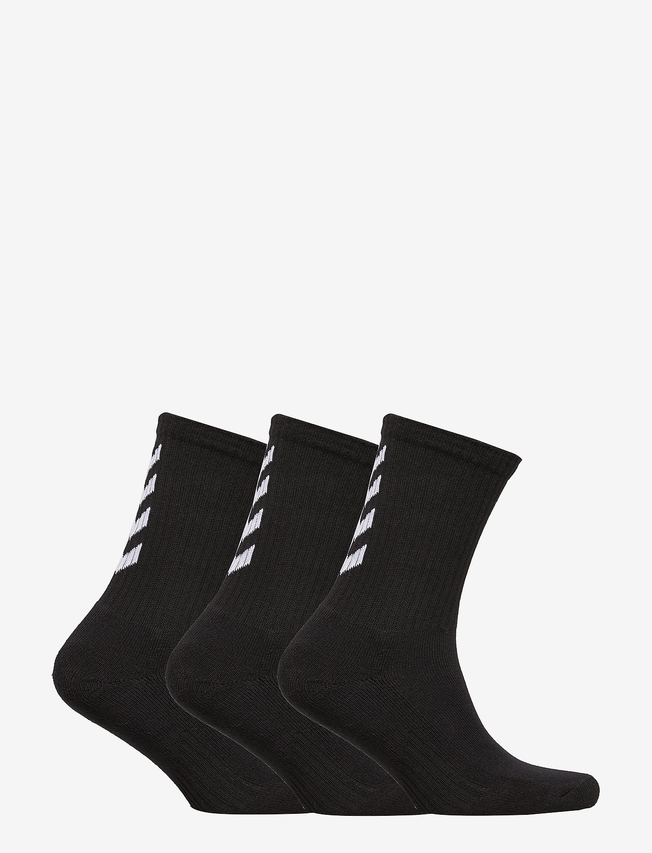 Hummel - FUNDAMENTAL 3-PACK SOCK - regular socks - black - 1