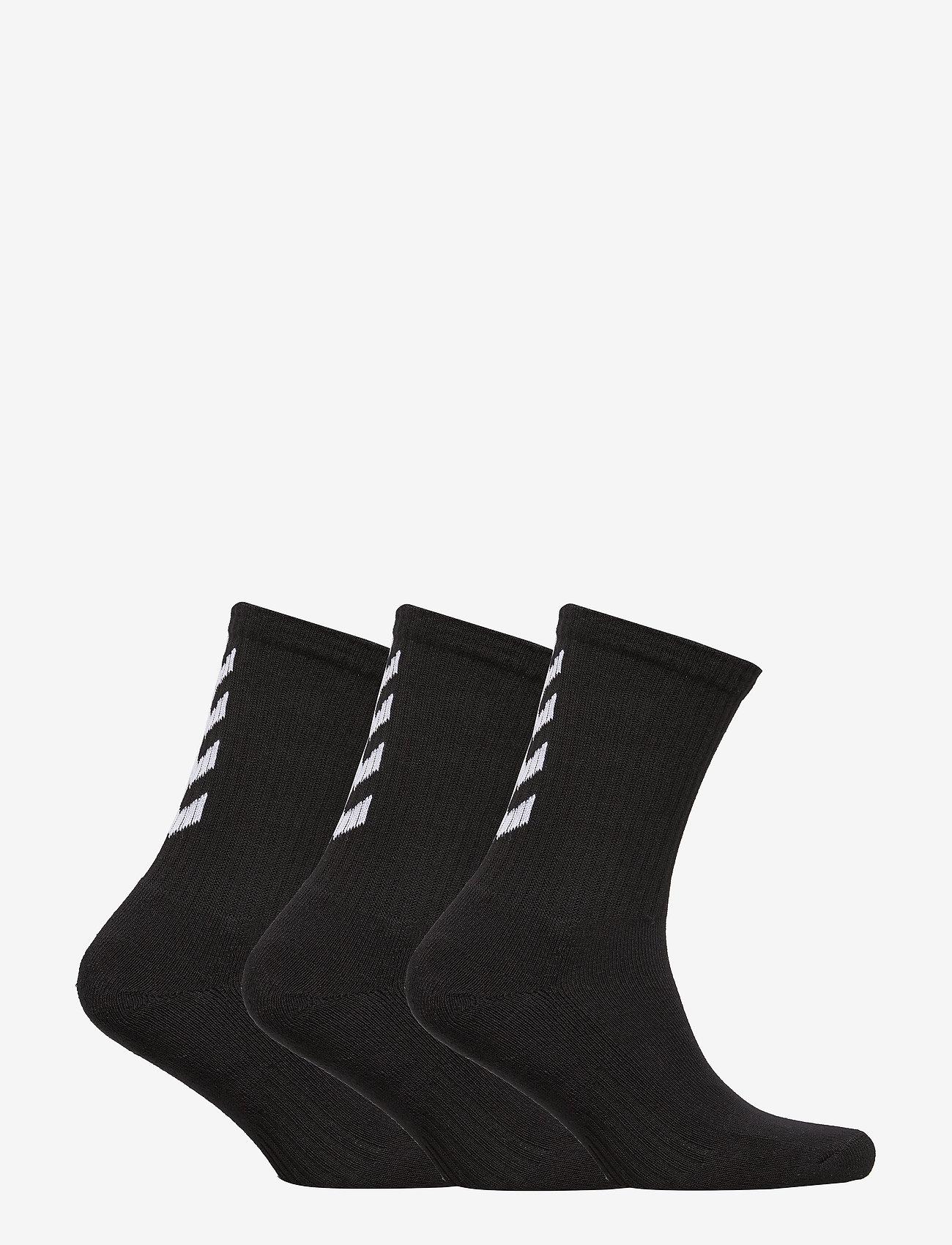 Hummel - FUNDAMENTAL 3-PACK SOCK - sokker - black - 1