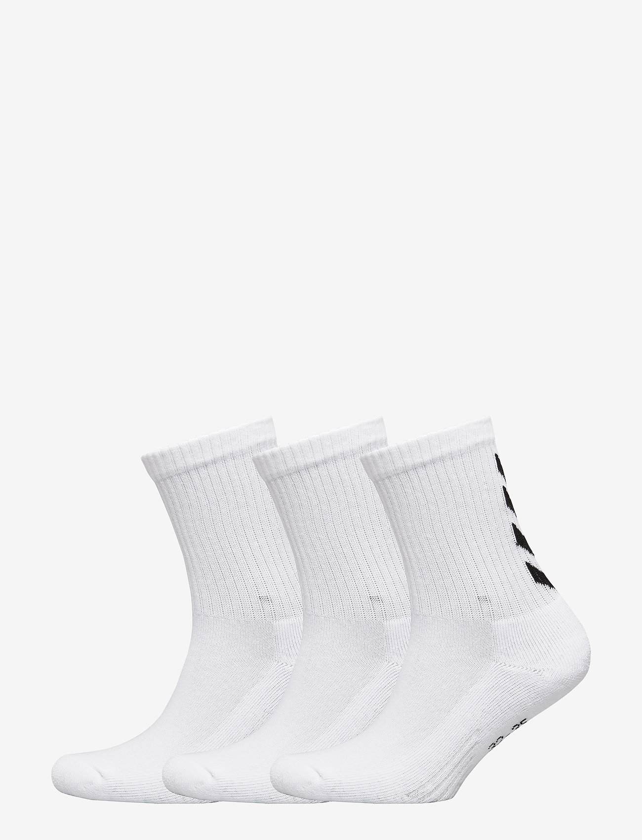 Hummel - FUNDAMENTAL 3-PACK SOCK - sokker - white - 0