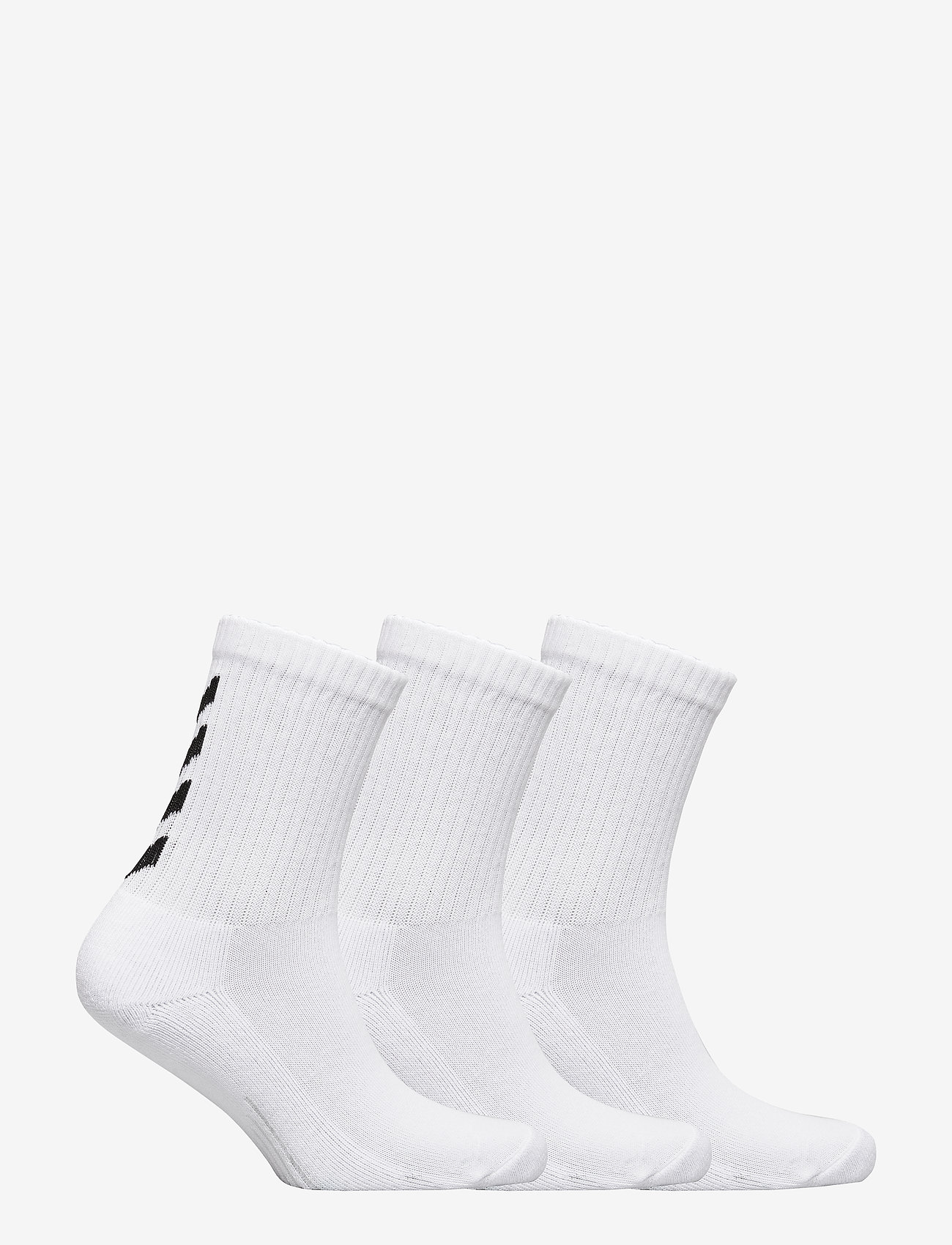 Hummel - FUNDAMENTAL 3-PACK SOCK - regular socks - white - 1