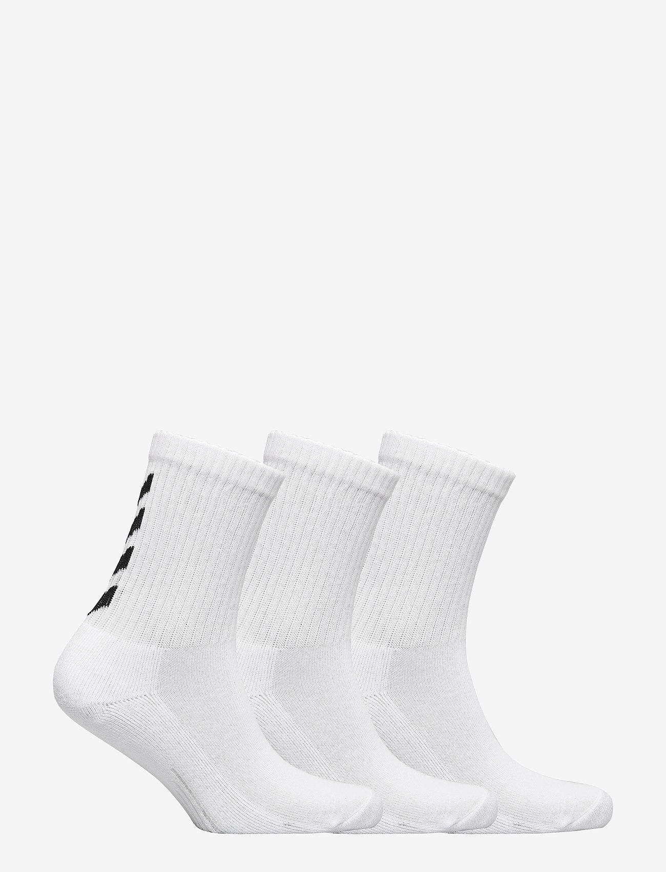 Hummel - FUNDAMENTAL 3-PACK SOCK - sokker - white - 1