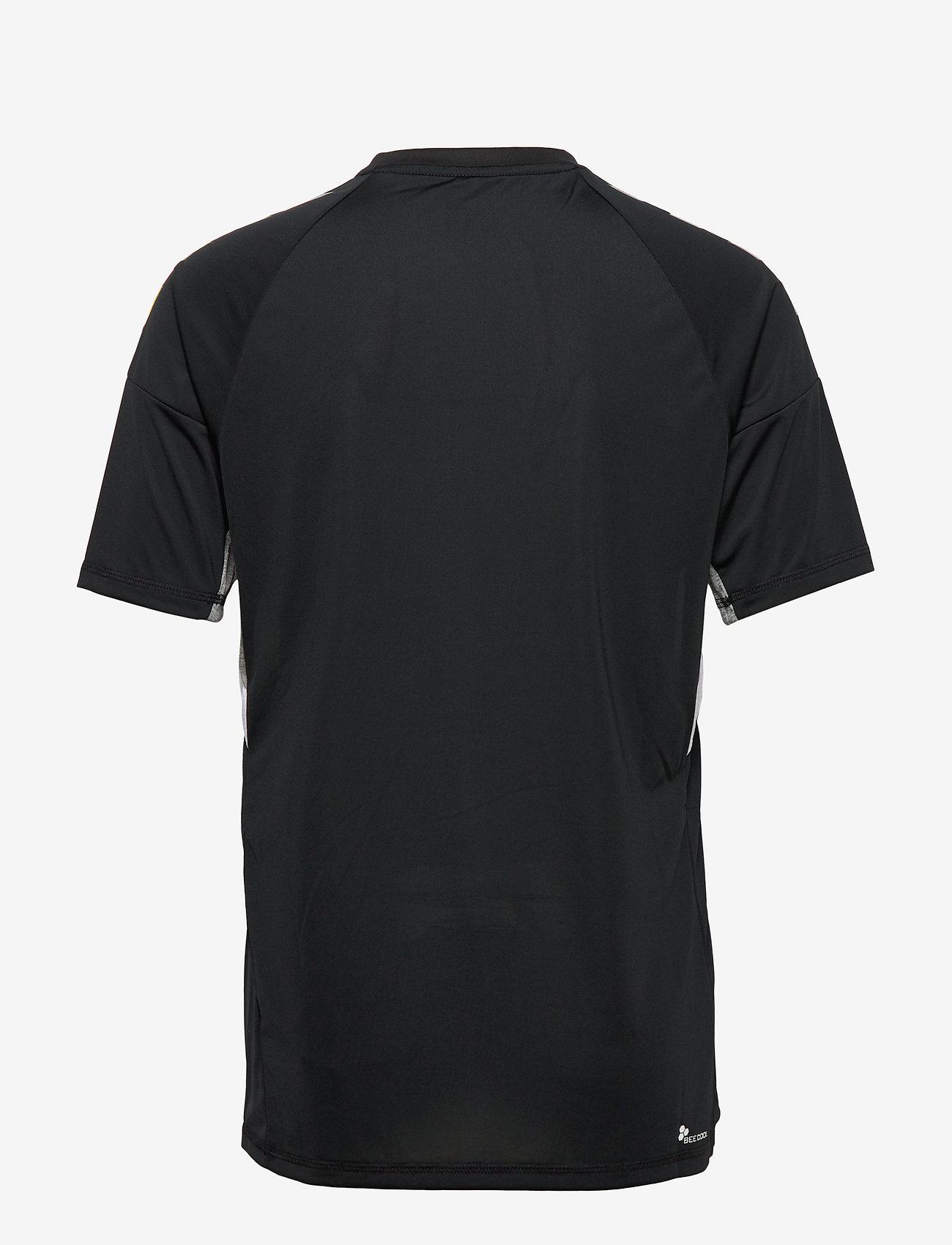 Hummel - TECH MOVE JERSEY S/S - football shirts - black - 1