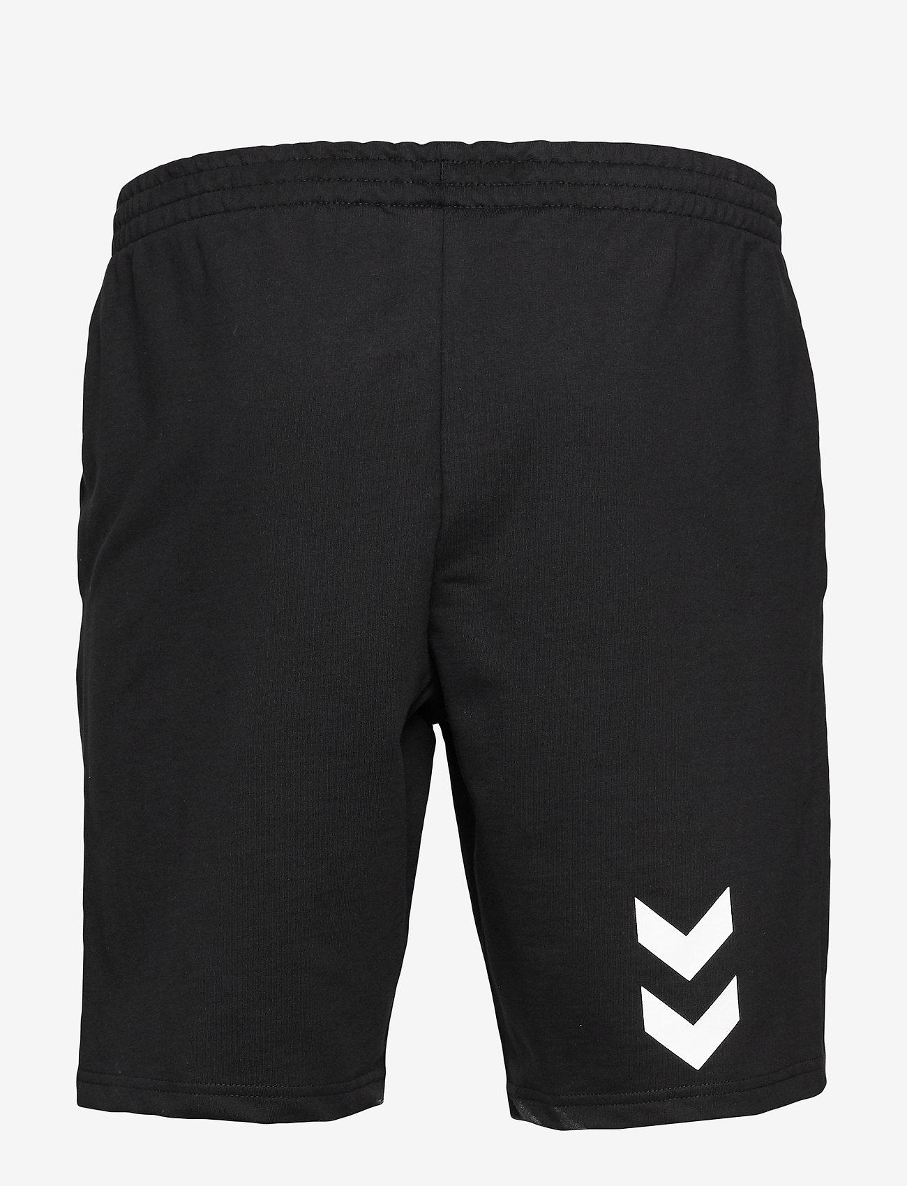 Hummel - HMLGO COTTON BERMUDA SHORTS - casual shorts - black - 1