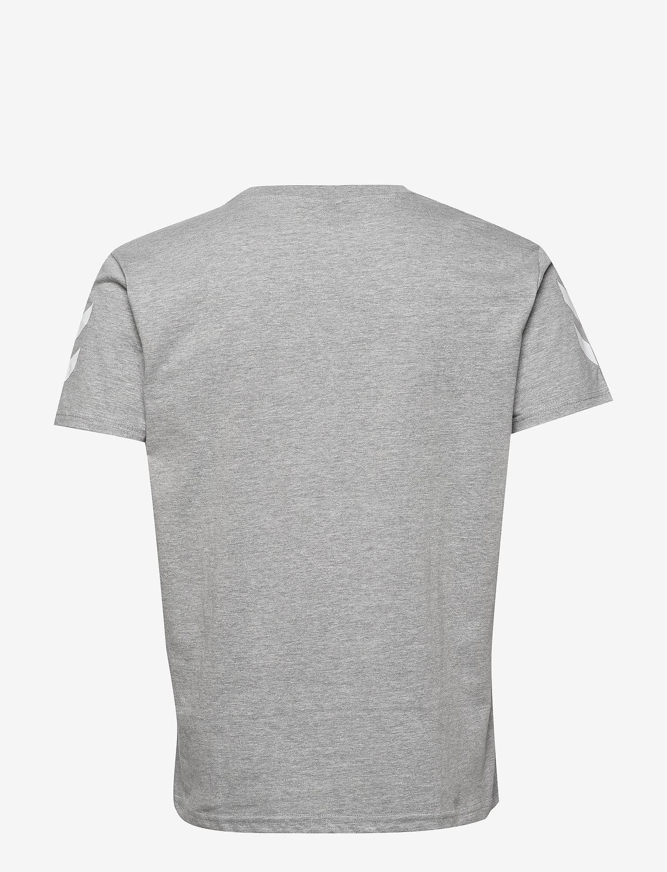 Hmlgo Cotton T-shirt S/s (Grey Melange) (11.96 €) - Hummel duBam