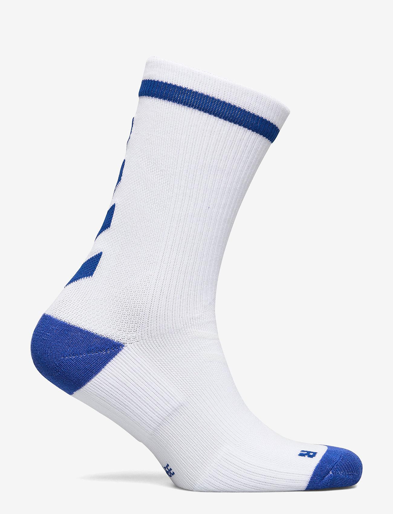 Hummel - ELITE INDOOR SOCK LOW - jalkapallosukat - white/true blue - 1