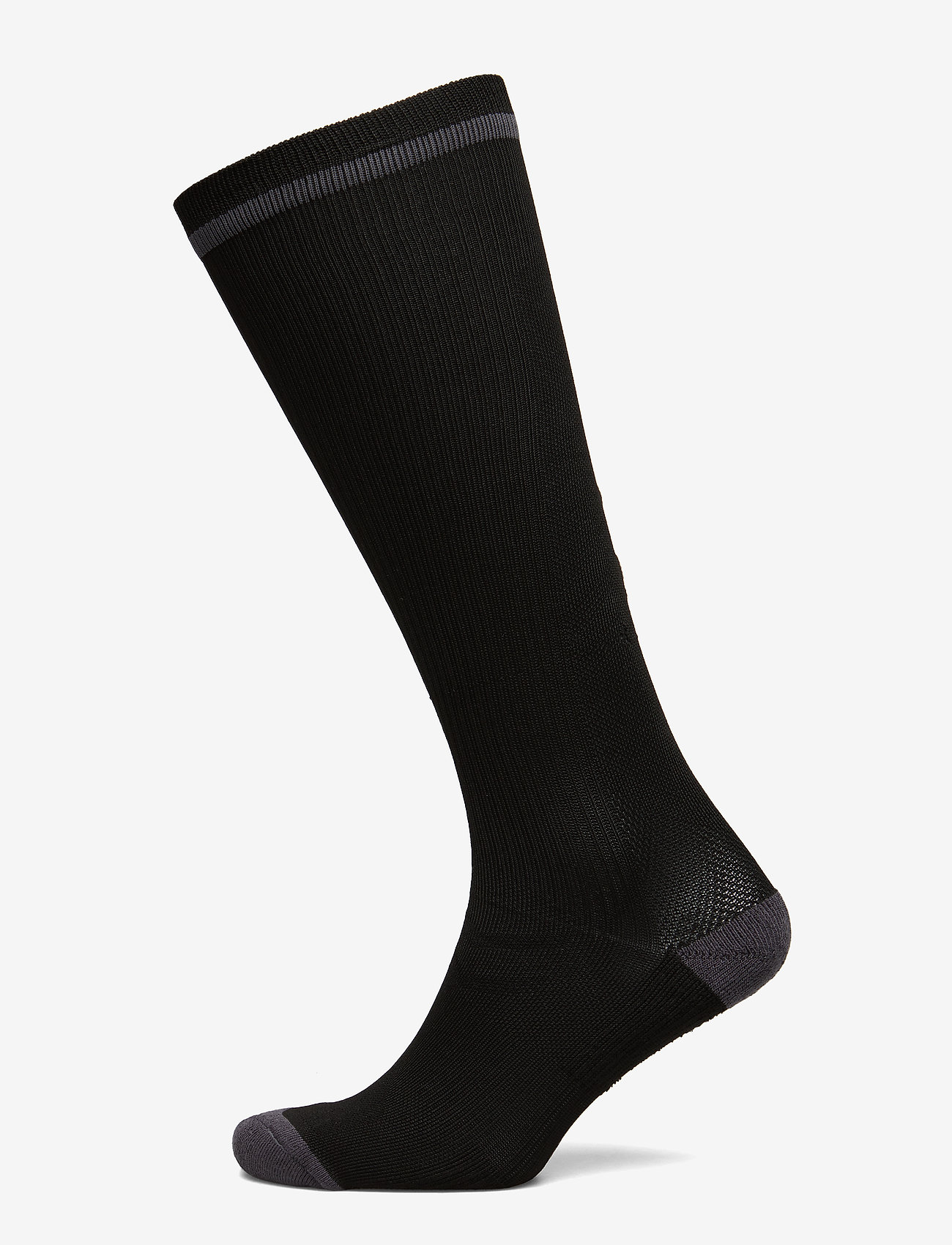 Hummel - ELITE INDOOR SOCK HIGH - jalkapallosukat - black/asphalt - 0