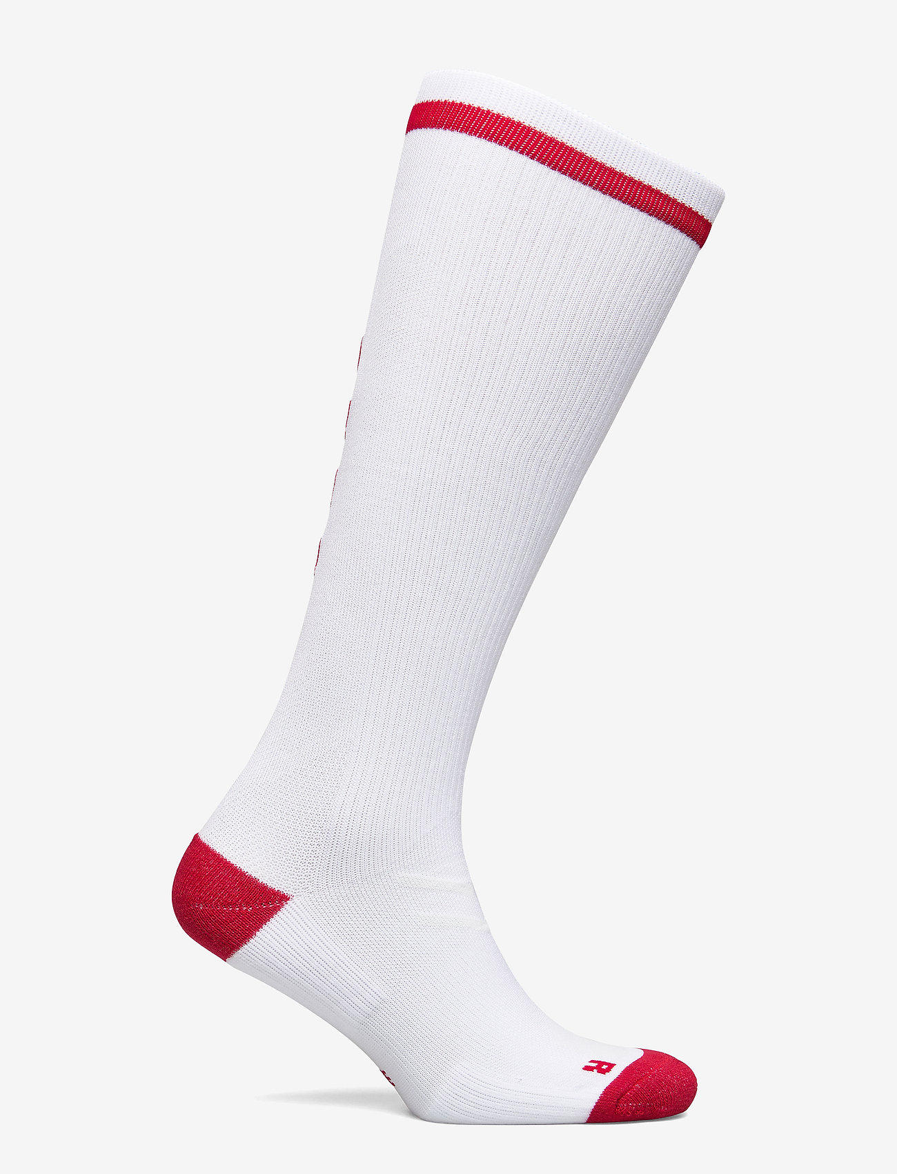 Hummel - ELITE INDOOR SOCK HIGH - jalkapallosukat - white/true red - 1
