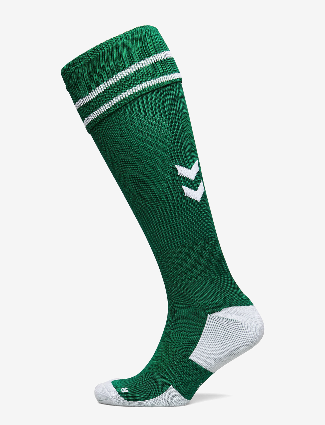 Hummel - ELEMENT FOOTBALL SOCK - fodboldsokker - evergreen/white - 0