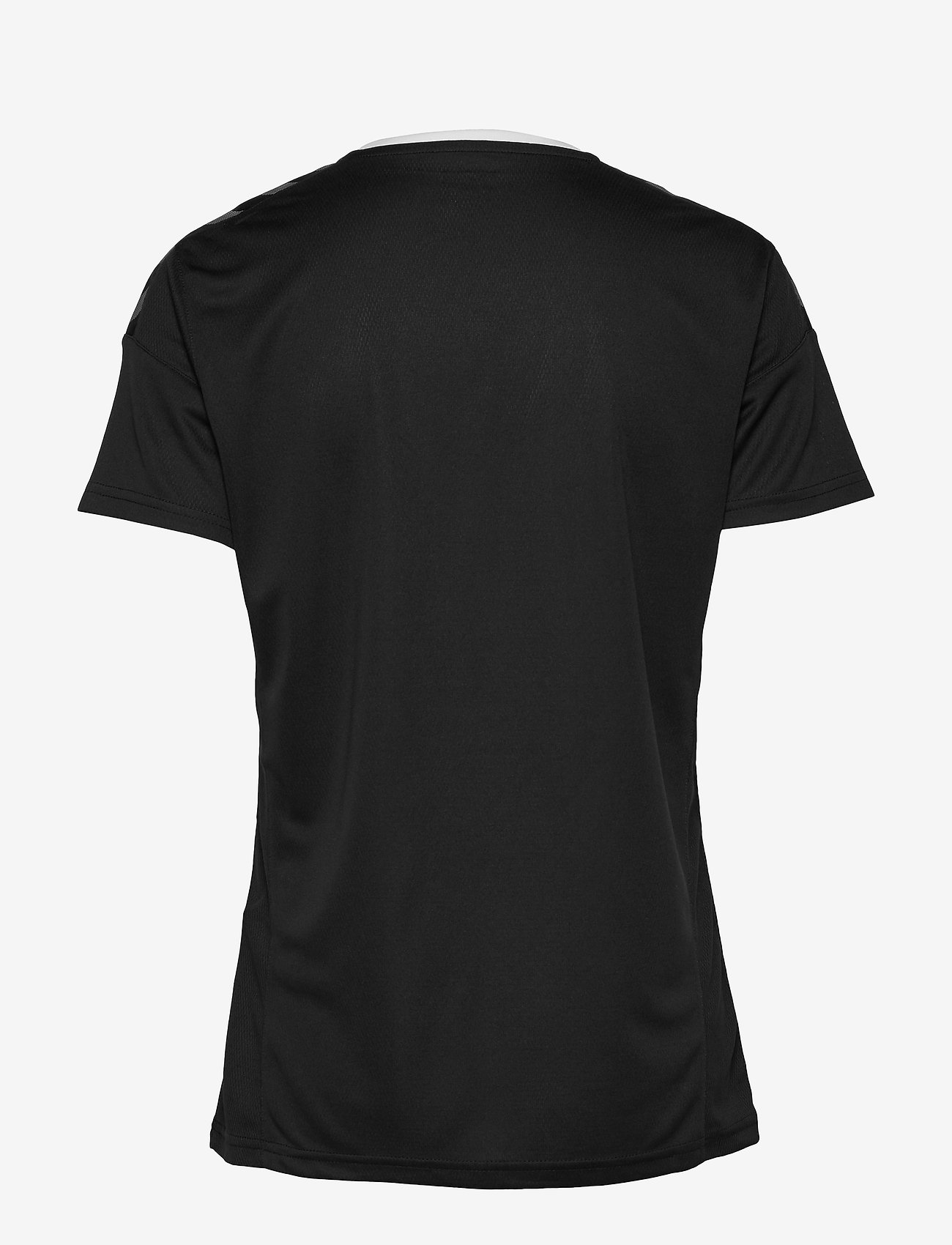 Hummel - hmlAUTHENTIC POLY JERSEY WOMAN S/S - t-shirts - black/white - 1