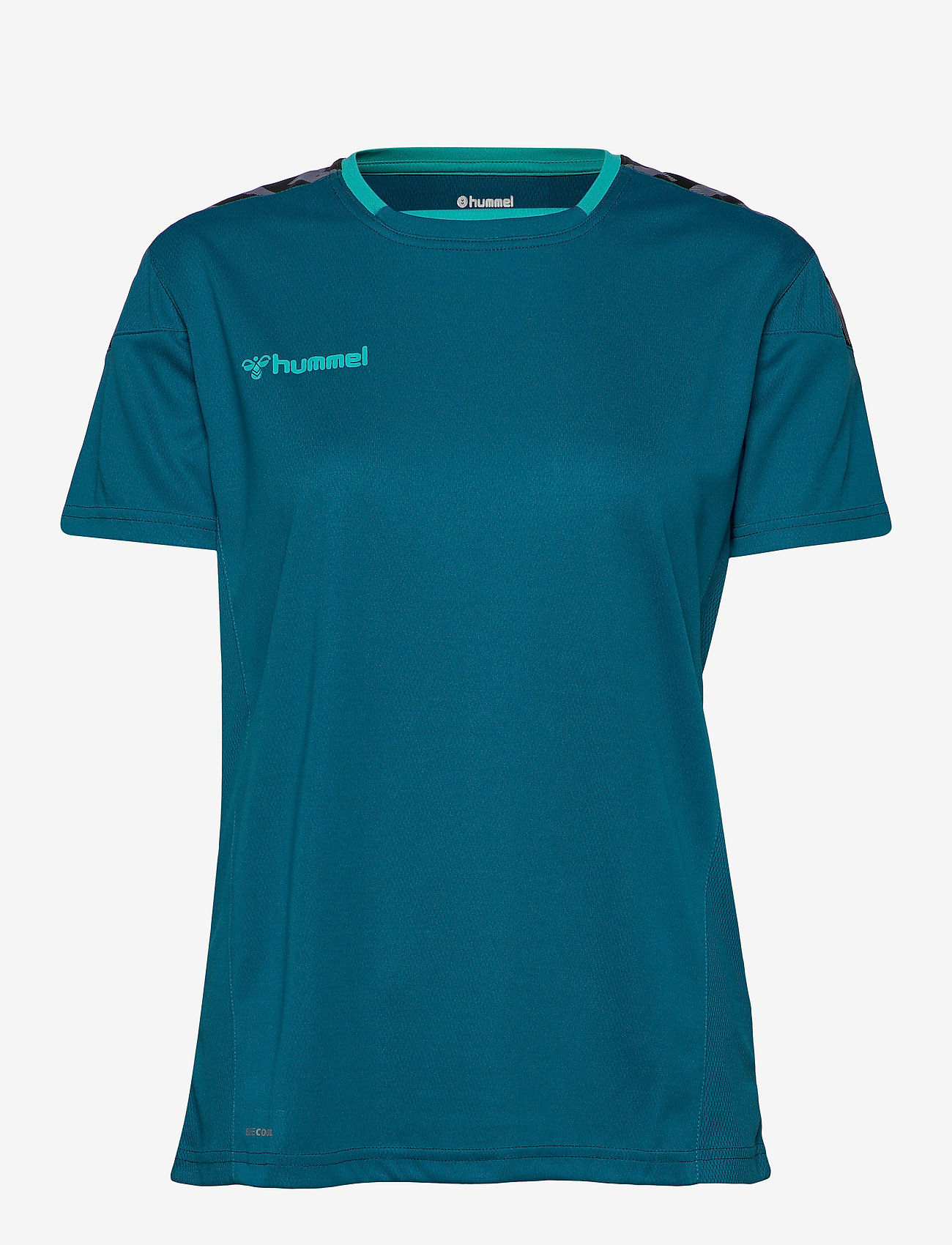 Hummel - hmlAUTHENTIC POLY JERSEY WOMAN S/S - t-shirts - celestial - 0