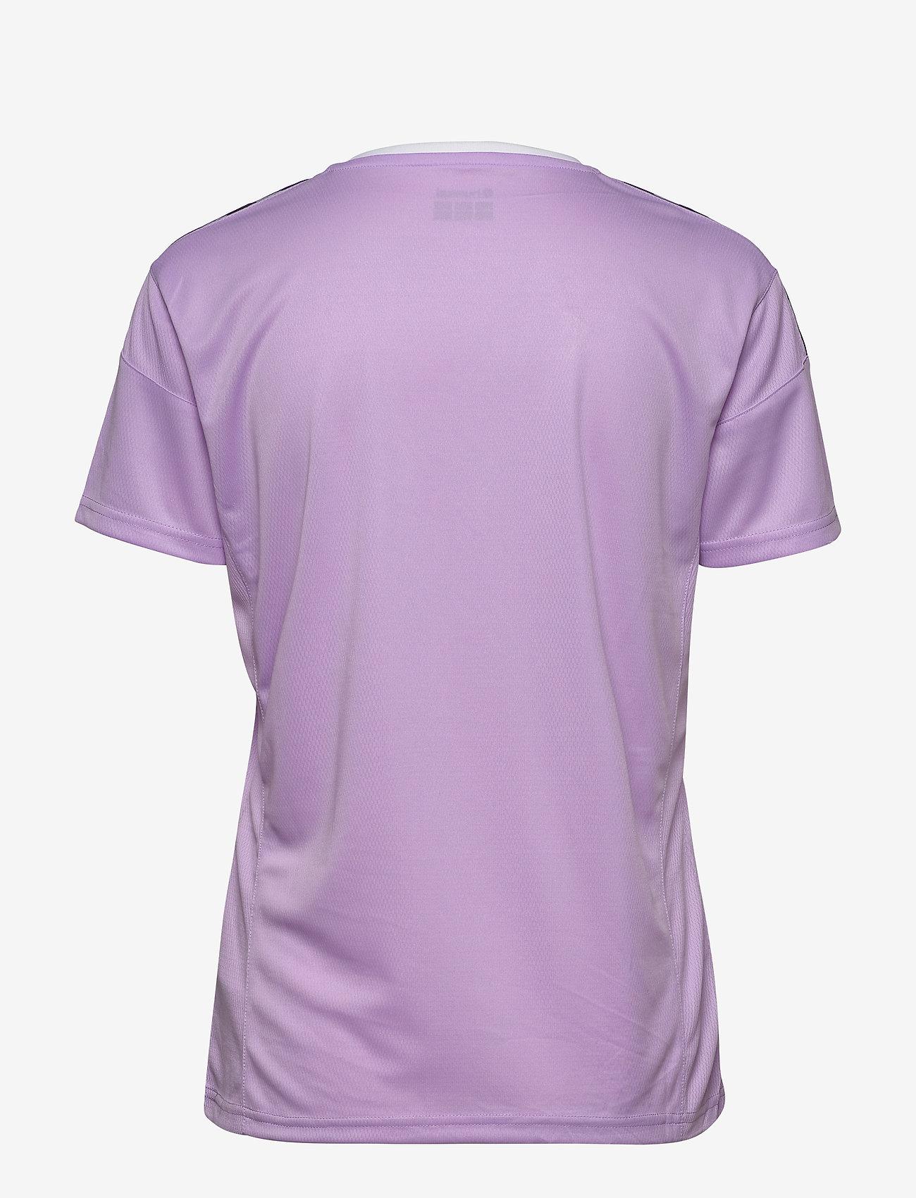 Hummel - hmlAUTHENTIC POLY JERSEY WOMAN S/S - t-shirts - lavendula - 1