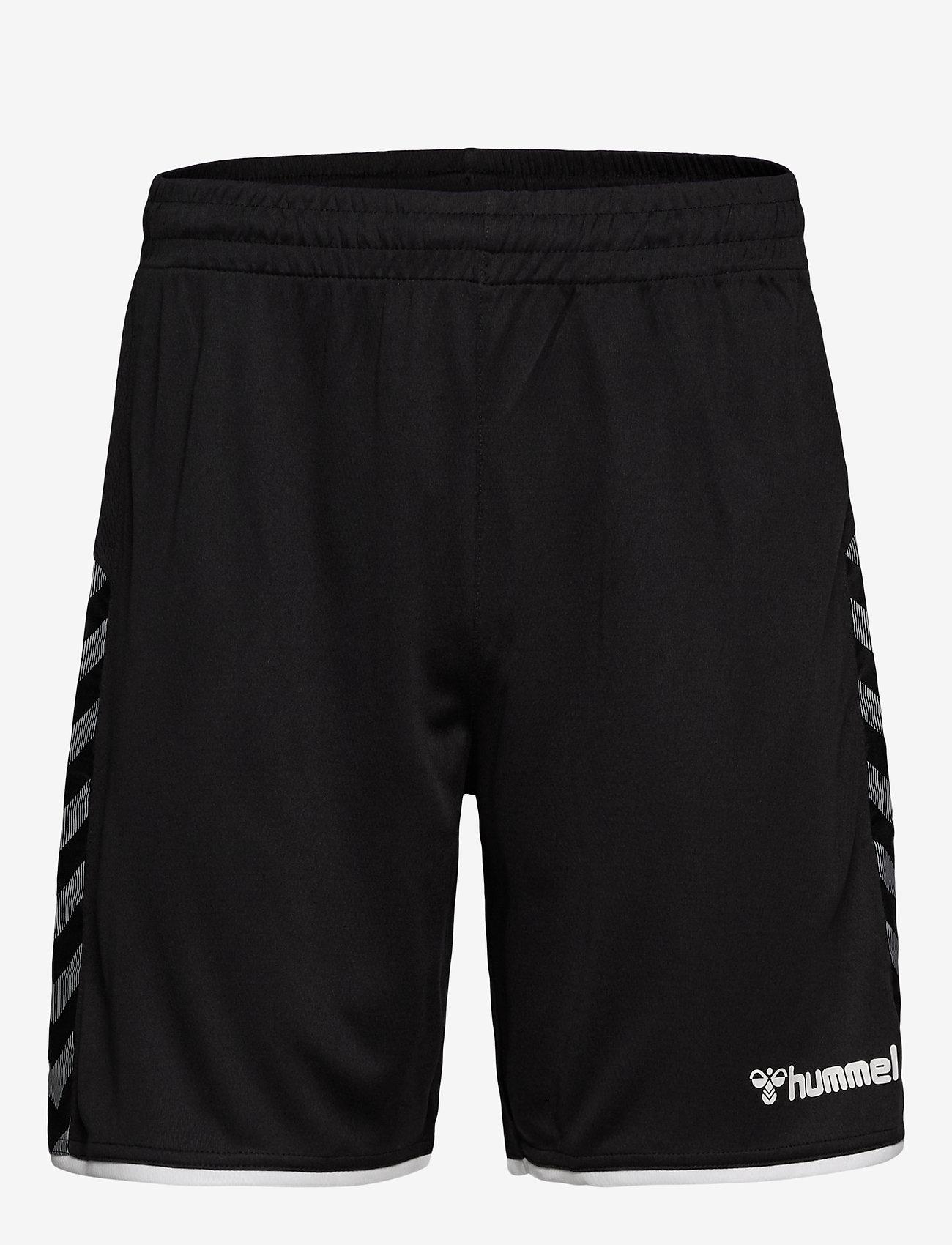 Hummel - hmlAUTHENTIC POLY SHORTS - training korte broek - black/white - 0