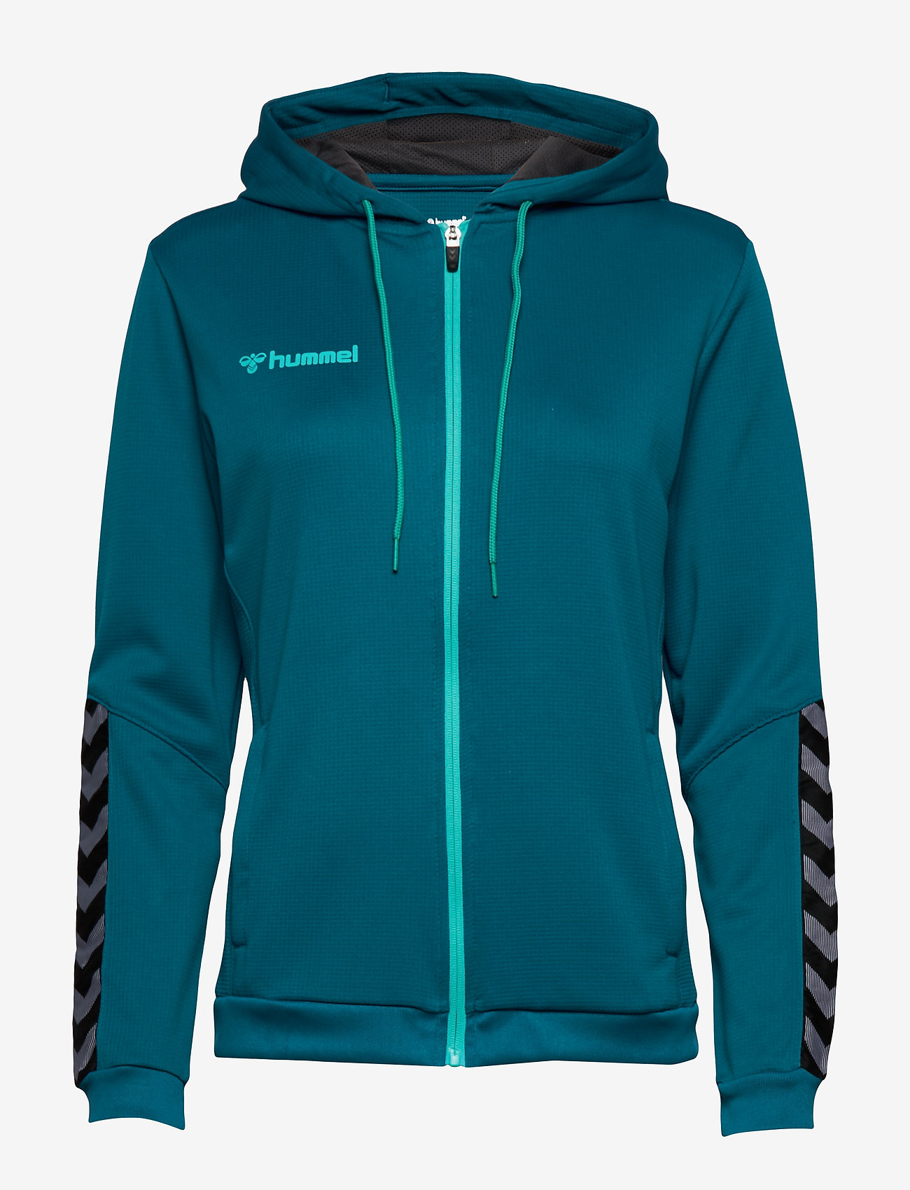 Hummel - hmlAUTHENTIC POLY ZIP HOODIE WOMAN - hupparit - celestial - 0