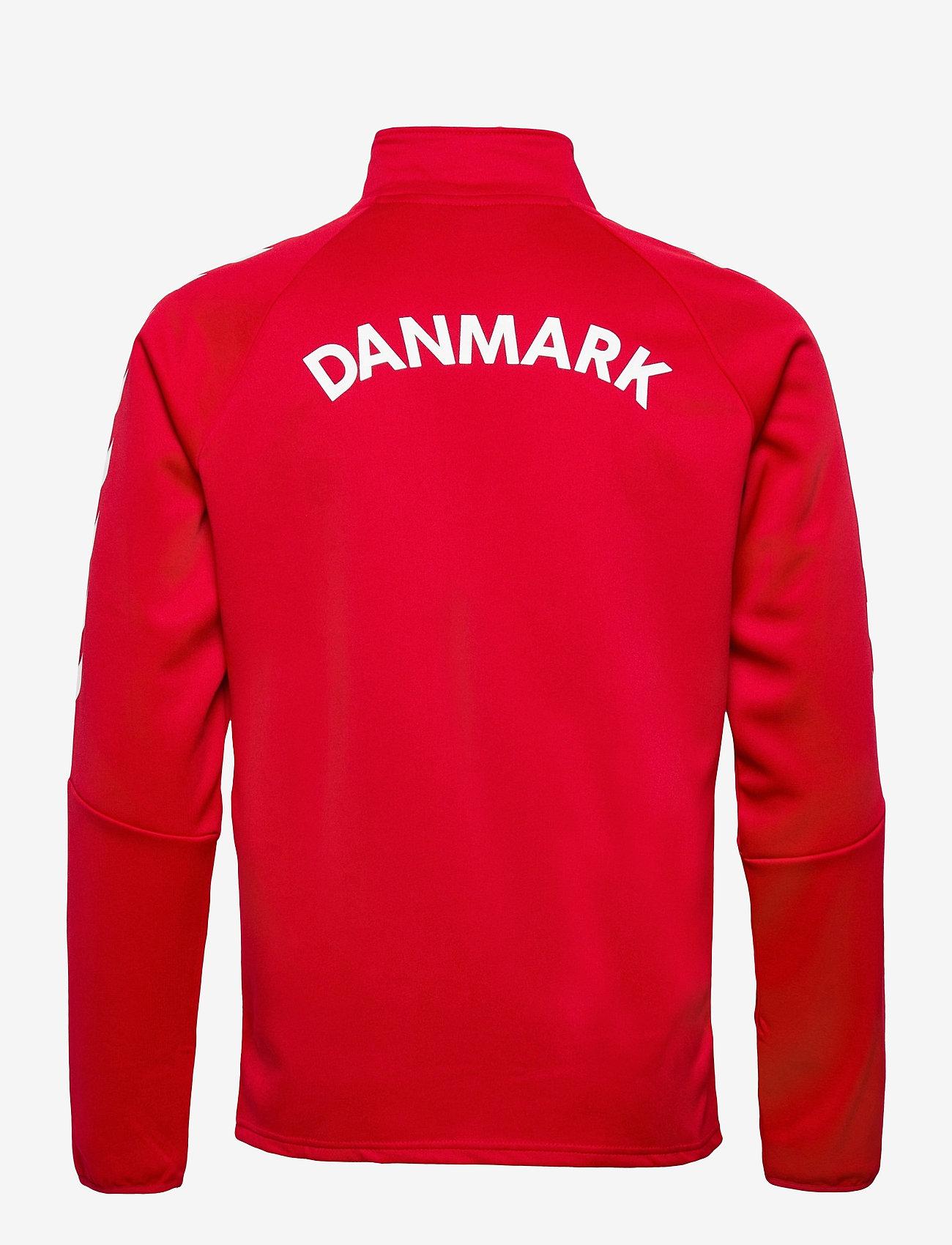 Hummel - DBU FAN 2020 ZIP JACKET - sweaters - tango red - 1