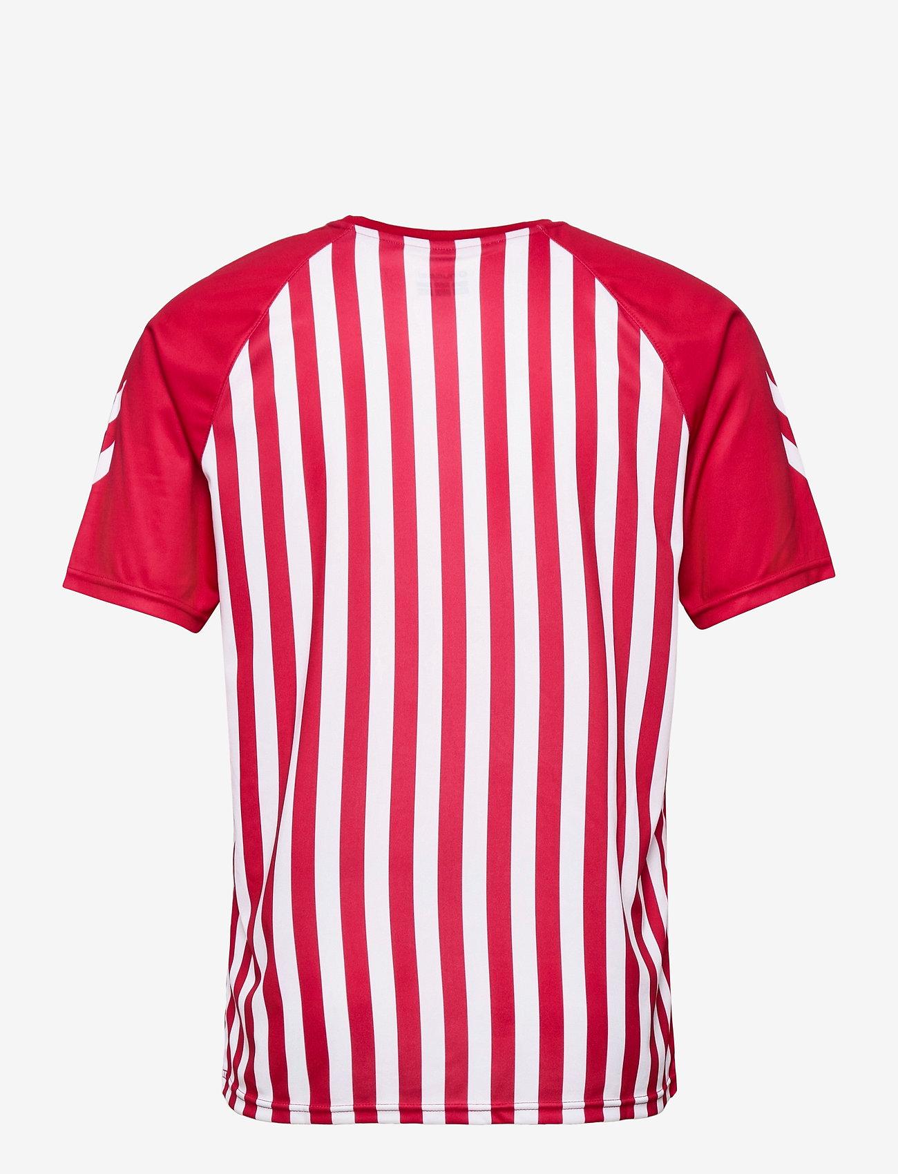 Hummel - DBU FAN 2020 RETRO TEE - football shirts - tango red/white - 1