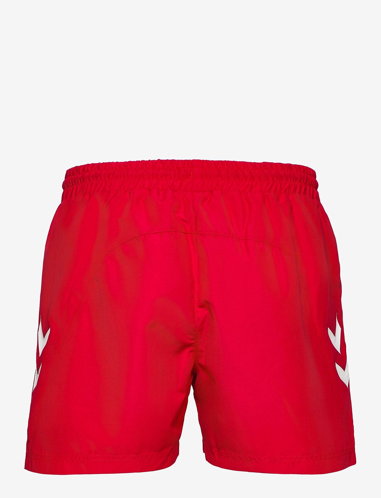 Hummel - DBU FAN 2020 SWIM SHORTS - shorts - tango red - 1