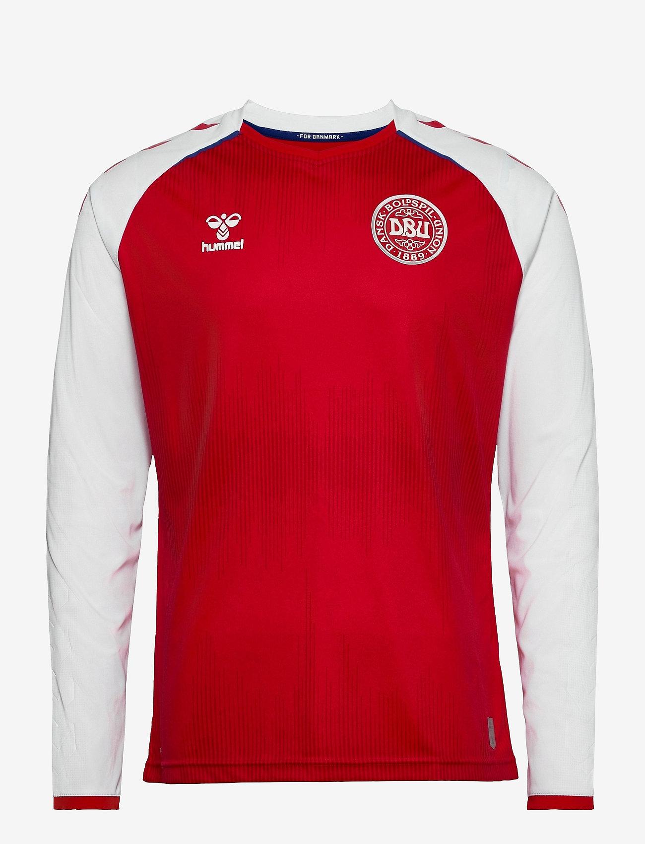 Hummel - DBU 20/21 HOME JERSEY L/S - football shirts - tango red - 0