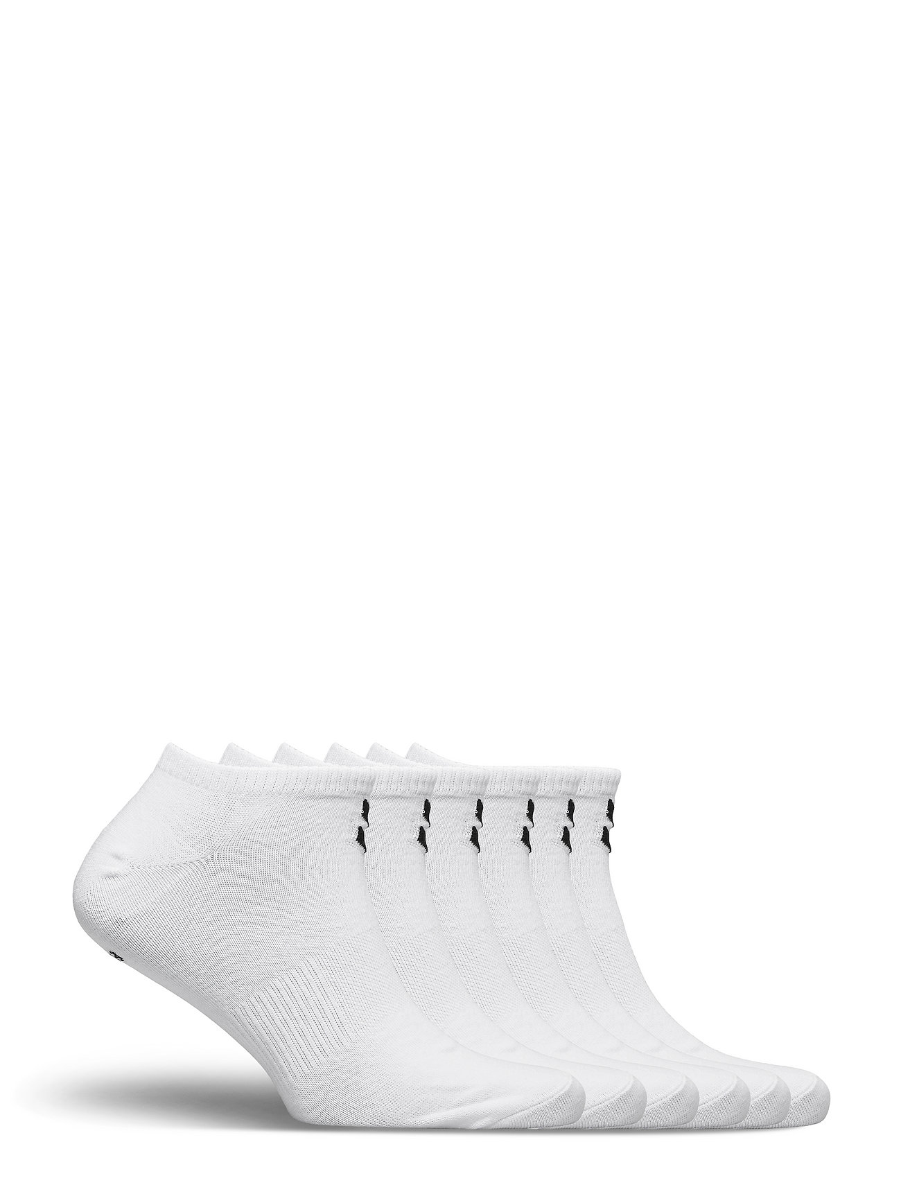 Hmlchevron 6-Pack Ankle Socks Ankelstrømper Korte Strømper Hvid Hummel