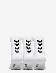 Hummel - FUNDAMENTAL 3-PACK SOCK - sokker - white - 2