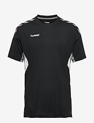 Hummel - TECH MOVE JERSEY S/S - football shirts - black - 0