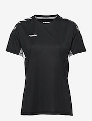 Hummel - TECH MOVE JERSEY WOMAN S/S - football shirts - black - 0