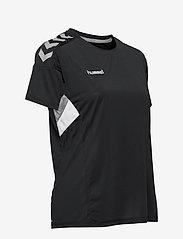 Hummel - TECH MOVE JERSEY WOMAN S/S - football shirts - black - 3