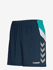 Hummel - TECH MOVE POLY SHORTS WOMAN - treenishortsit - sargasso sea - 2