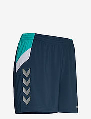 Hummel - TECH MOVE POLY SHORTS WOMAN - treenishortsit - sargasso sea - 3