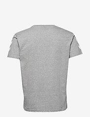 Hummel - HMLGO COTTON T-SHIRT S/S - t-shirts - grey melange - 1