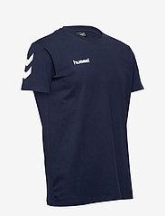 Hummel - HMLGO COTTON T-SHIRT S/S - t-shirts - marine - 2