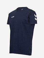 Hummel - HMLGO COTTON T-SHIRT S/S - t-shirts - marine - 3
