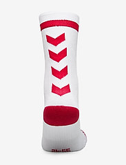 Hummel - ELITE INDOOR SOCK LOW - voetbalsokken - white/true red - 2