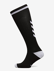 Hummel - ELITE INDOOR SOCK HIGH - jalkapallosukat - black/white - 0