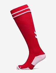 Hummel - ELEMENT FOOTBALL SOCK - jalkapallosukat - true red/white - 0