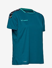 Hummel - hmlAUTHENTIC POLY JERSEY WOMAN S/S - t-shirts - celestial - 3
