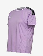 Hummel - hmlAUTHENTIC POLY JERSEY WOMAN S/S - t-shirts - lavendula - 2