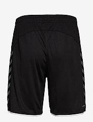 Hummel - hmlAUTHENTIC POLY SHORTS - training korte broek - black/white - 1