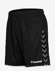 Hummel - hmlAUTHENTIC POLY SHORTS - training korte broek - black/white - 2