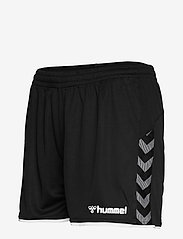 Hummel - hmlAUTHENTIC POLY SHORTS WOMAN - treenishortsit - black/white - 2